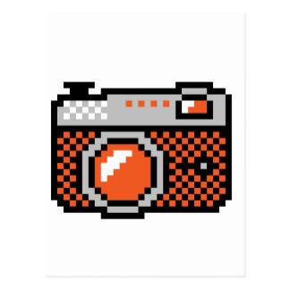 analoge Fotokamera Postkarte