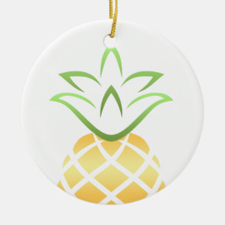 Ananas Aloha Hawaii! Keramik Ornament