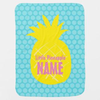 Ananas-Baby-Decke Babydecke