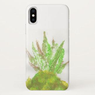 Ananas-Blatt-Druck iPhone Fall iPhone X Hülle