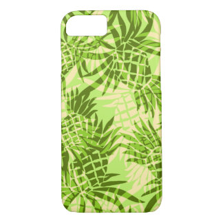 Ananas-Camouflage-hawaiisches tropisches - Limon iPhone 8/7 Hülle