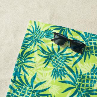 Ananas-Camouflage-hawaiisches tropisches - Limon Strandtuch