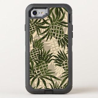 Ananas-Camouflage-hawaiisches tropisches OtterBox Defender iPhone 8/7 Hülle
