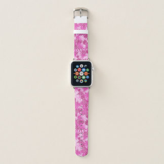 Ananas-Camouflage-hawaiisches tropisches - Rosa Apple Watch Armband