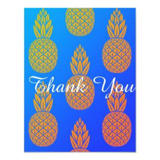 Ananas danken Ihnen Miami Karte