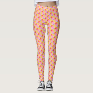 Ananas-Explosions-Gamaschen Leggings