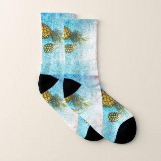 Ananas-Frucht-hawaiischen pazifischen Socken