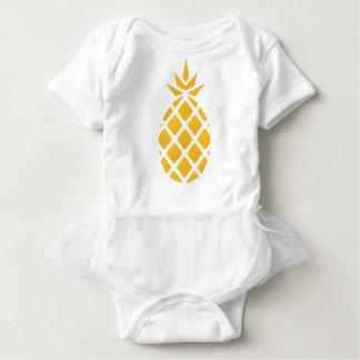 Ananas, Frucht, Logo, Nahrung, tropisch, Baby Strampler