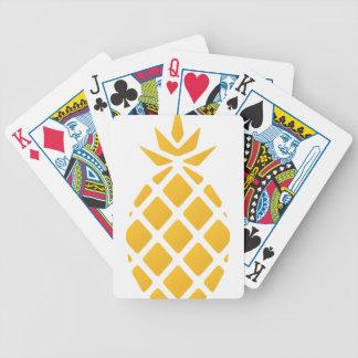 Ananas, Frucht, Logo, Nahrung, tropisch, Bicycle Spielkarten