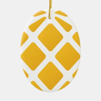 Ananas, Frucht, Logo, Nahrung, tropisch, Keramik Ornament