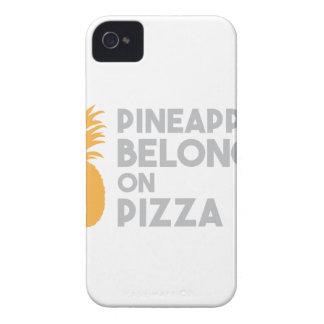 Ananas gehört auf Pizza iPhone 4 Hülle