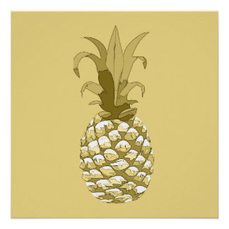 Ananas-Gold ID239 Poster