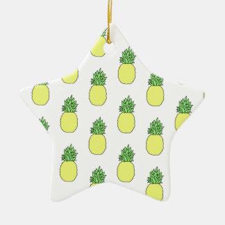 Ananas Keramik Ornament
