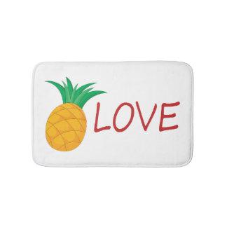Ananas-Liebe Badematte