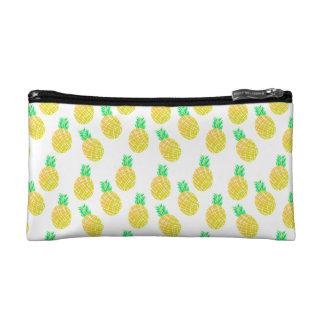 Ananas-Muster - kosmetische Tasche