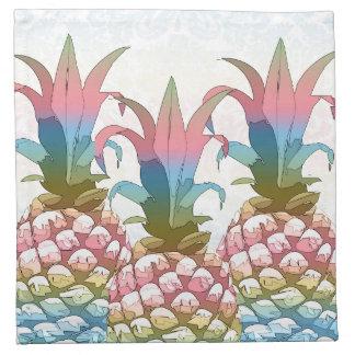 Ananas-Pastellsteigung ID246 Stoffserviette