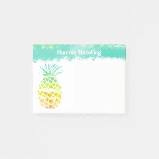 Ananas-personalisierte Anmerkungs-Auflage Post-it Haftnotiz