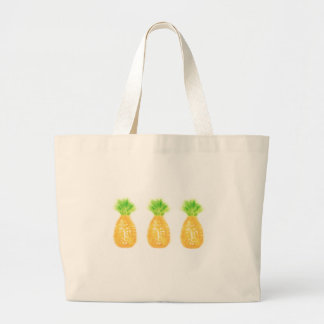 Ananas-riesige Taschen-Tasche Jumbo Stoffbeutel