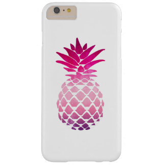 Ananas-rosa Aquarell-Telefon-Kasten Barely There iPhone 6 Plus Hülle