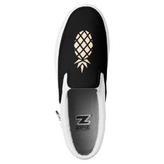 Ananas-Schablone Slip-On Sneaker