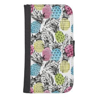 Ananas-Schmutz-Palmen Geldbeutel Hülle Für Das Samsung Galaxy S4