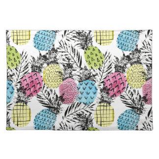 Ananas-Schmutz-Palmen Tischset