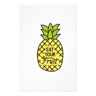 """ANANAS, Shirts """"essen Ihrer Frucht"""", Zusätze, g Briefpapier"""