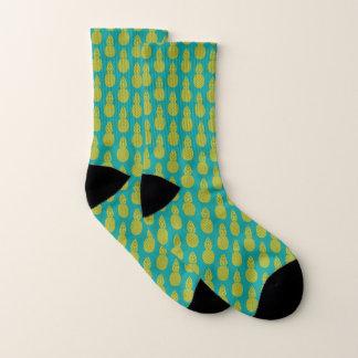 Ananas-tropische Frucht Socken