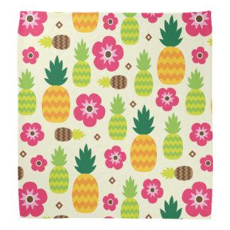 Ananas-tropischer Sommer-nahtloses Muster Kopftuch
