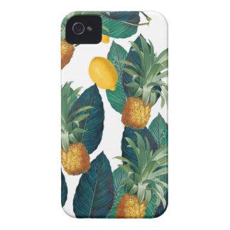 Ananas- und Zitronenweiß Case-Mate iPhone 4 Hülle