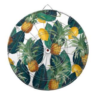 Ananas- und Zitronenweiß Dartscheibe