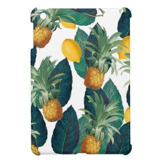 Ananas- und Zitronenweiß iPad Mini Hülle