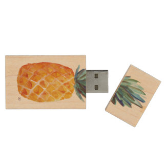 Ananas USB Holz USB Stick