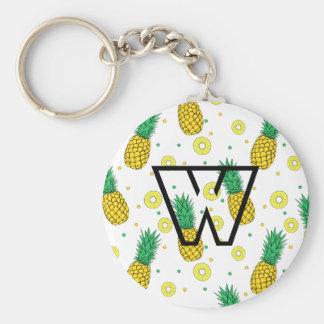 Ananasmuster Schlüsselanhänger