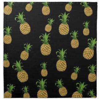 Ananasmuster Stoffserviette