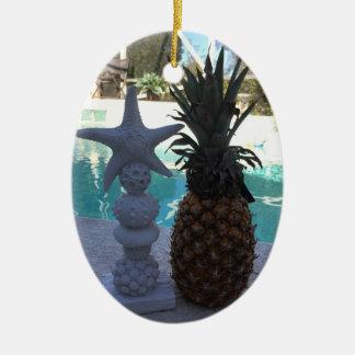 AnanasStarfish Keramik Ornament