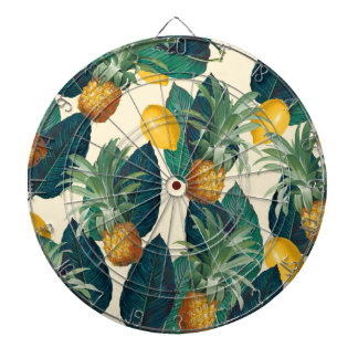Ananaszitronengelb Dartscheibe