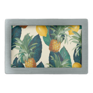 Ananaszitronengelb Rechteckige Gürtelschnalle
