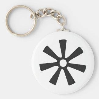 ANANSE NTONTAN | Symbol von Klugheit, Kreativität Schlüsselanhänger