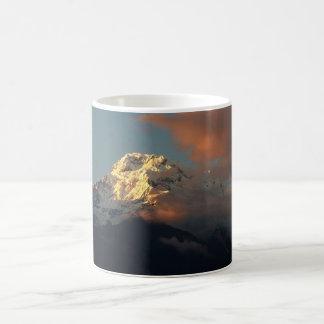 Anapurna Sonnenuntergang Kaffeetasse