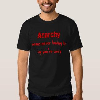 Anarchie… Hemden