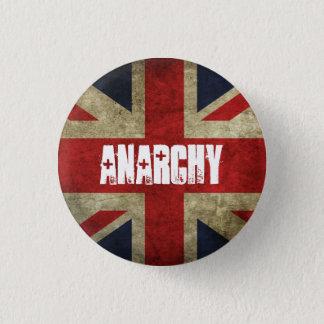Anarchie im BRITISCHEN Abzeichen Runder Button 3,2 Cm