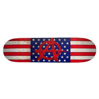 Anarchie in den USA Personalisierte Skateboards