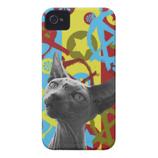 Anarchie-Katze iPhone 4 Cover
