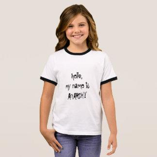 Anarchie Ringer T-Shirt