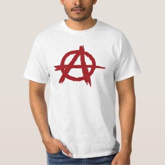 Anarchie-rot Hemden