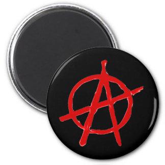 Anarchie Runder Magnet 5,1 Cm