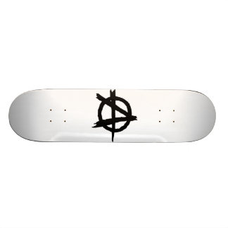 Anarchie-Symbol Skateboard Brett