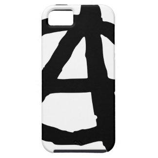 Anarchie-Symbol Tough iPhone 5 Hülle