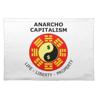 Anarcho Kapitalismus - Leben, Freiheit, Eigentum Tisch Sets